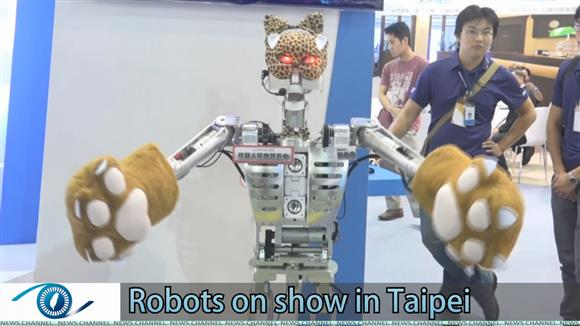 Robots on show in Taipei
