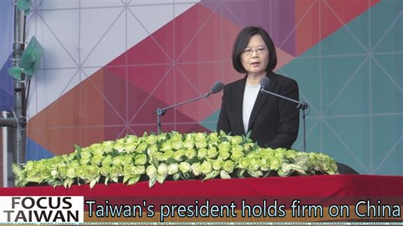 Tsai Ing-wen holds firm on China
