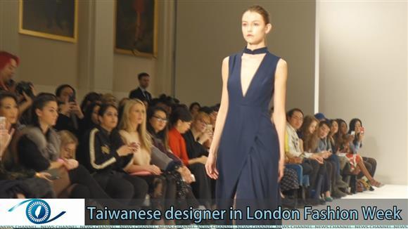Taiwanese designer in London Fashion Week