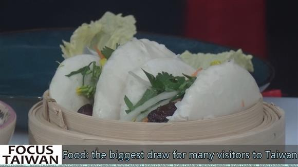 Food: the biggest draw for many visitors to Taiwan