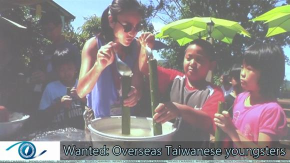 Wanted: Overseas Taiwanese youngsters