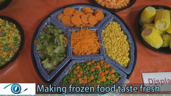 Making frozen food taste fresh
