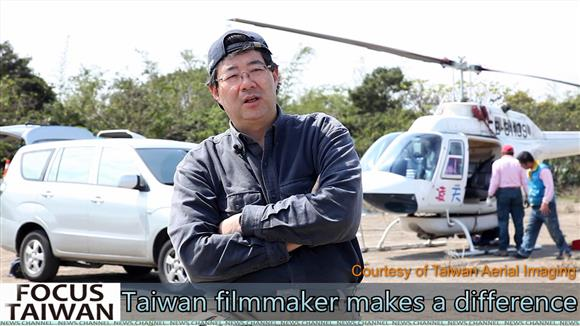 Taiwanese filmmaker makes a difference