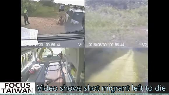 Video shows shot Vietnamese migrant left to die
