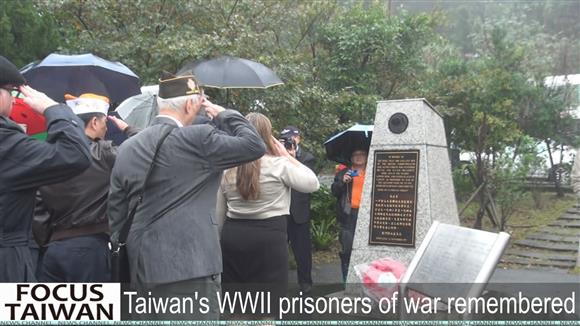 Taiwan's WWII prisoners of war remembered