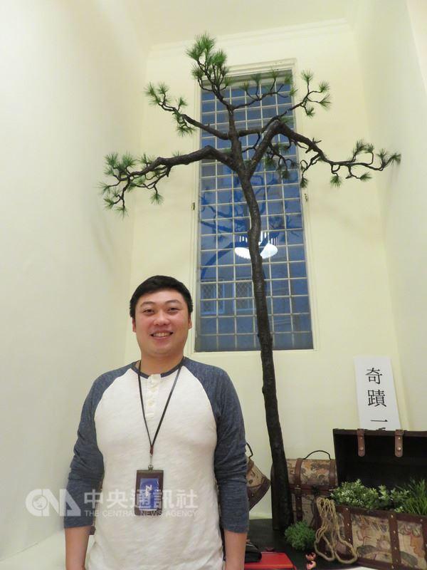Impact Hub Taipei社會影響力製造所共同負責人之一的陳昱築表示,去年11月在台北舉辦關懷日本福島的展覽,進場人數之多,超乎他的想像,對於無法在311這天到日本辦理此展,感到很遺憾。中央社記者楊明珠攝 107年3月11日