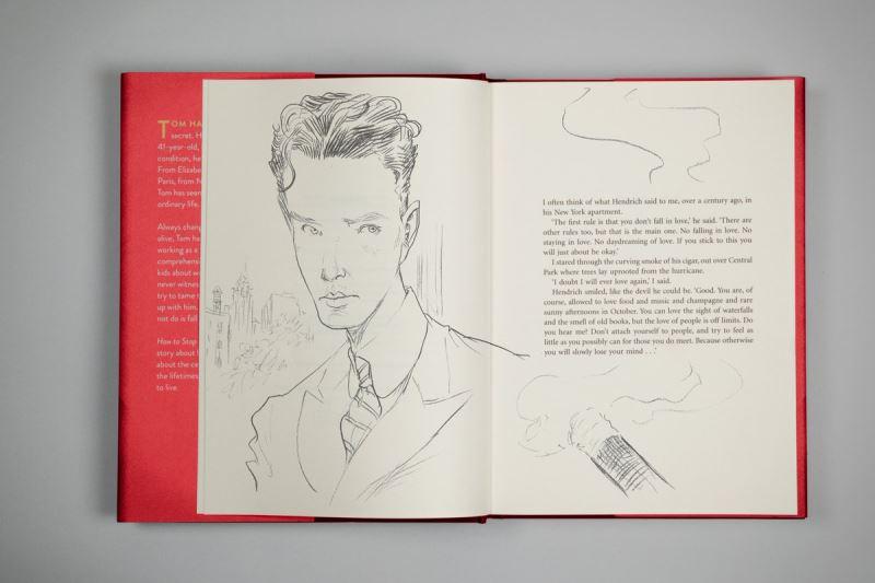 英國出版商取得授權後,2017年底結合插畫推出珍藏版,在書中加入60幅插畫,大受好評。(圖取自Canongate出版商推特twitter.com/canongatebooks)