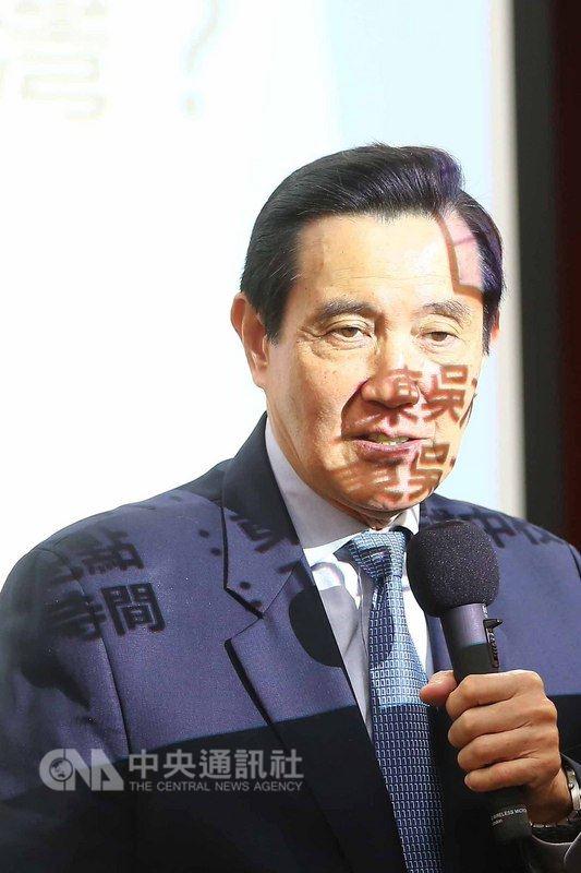 前總統馬英九(圖)13日受邀到東吳大學,以「兩岸詐欺犯的共同管轄問題:送回大陸還是接回台灣?」為題進行演講,並與學生互動交流。中央社記者游凱翔攝 107年3月13日