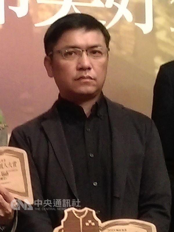 圖為台灣作家吳明益。(中央社檔案照片)