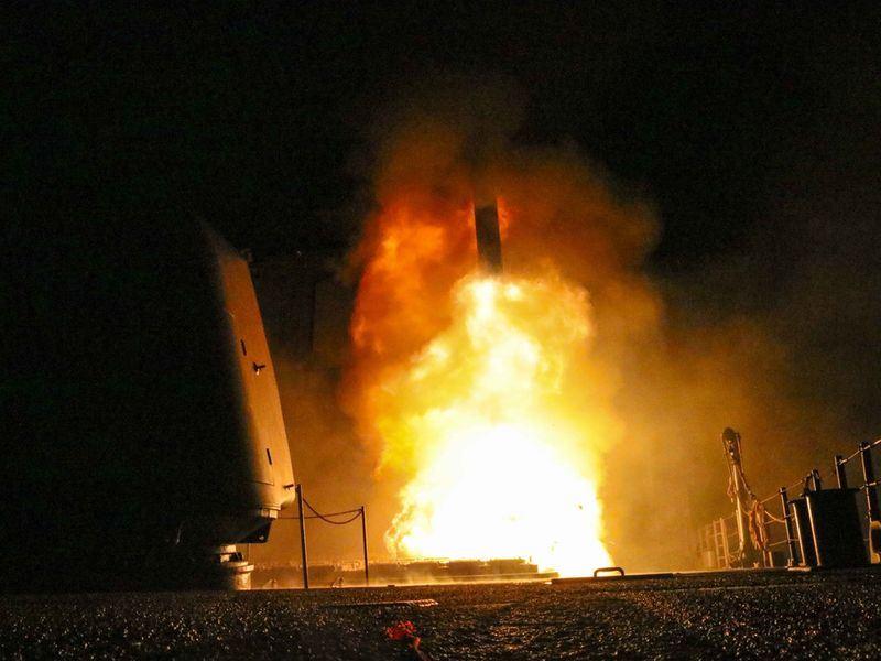 美國國防部14日指出,美國、法國和英國對敘利亞政權的聯合軍事行動已「成功擊中每一個目標」。(圖取自美國國防部網頁www.defense.gov)