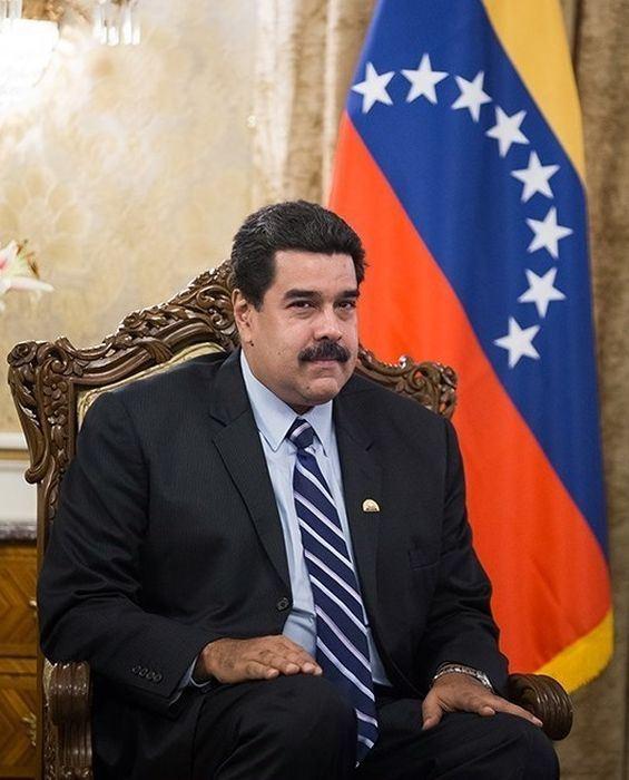 委內瑞拉社會主義總統馬杜洛(圖)連任,美國政府再祭制裁回應,讓現金短缺的委內瑞拉雪上加霜。(圖取自維基共享資源,作者:Tasnim News Agency,CC BY 4.0)