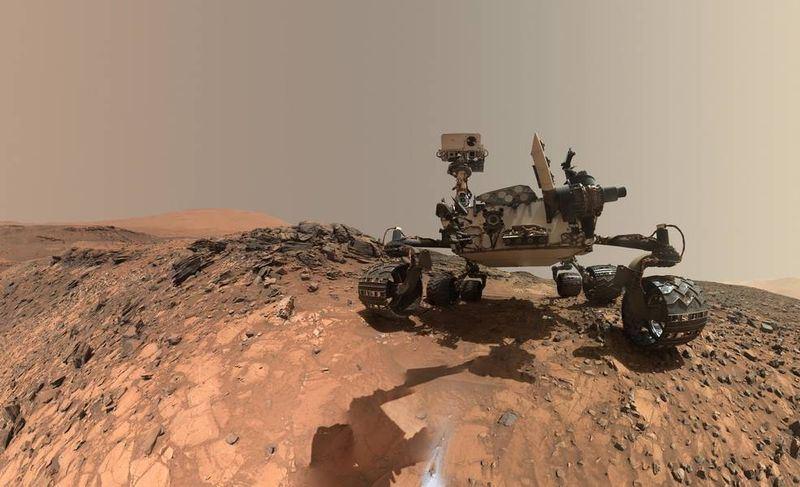 NASA機器人好奇號(圖)探測火星地表,找到迄今所發現成分最複雜的有機化合物,更偵測到甲烷氣體有季節性波動。(圖取自NASA網頁www.nasa.gov)