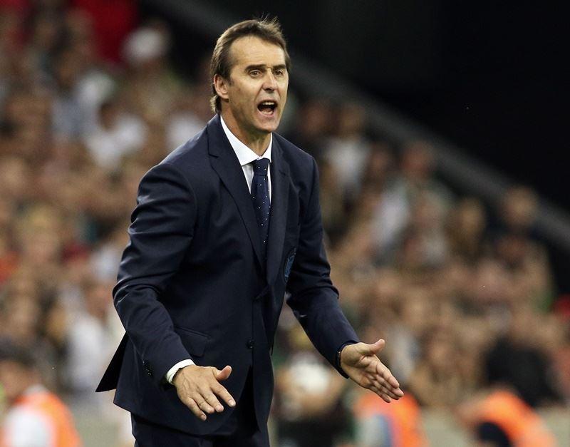 世界盃足球賽開打前夕,西班牙足球隊總教練盧柏迪古13日被西班牙足總拔掉國家隊帥印。(達志提供)