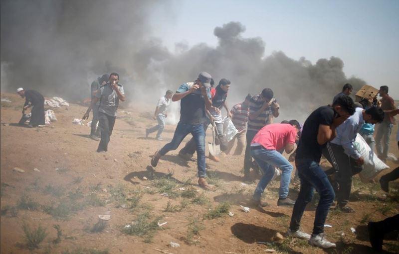 聯合國大會13日天通過決議,譴責以色列鎮壓加薩示威導致巴勒斯坦人慘重死傷。(檔案照片/路透社提供)
