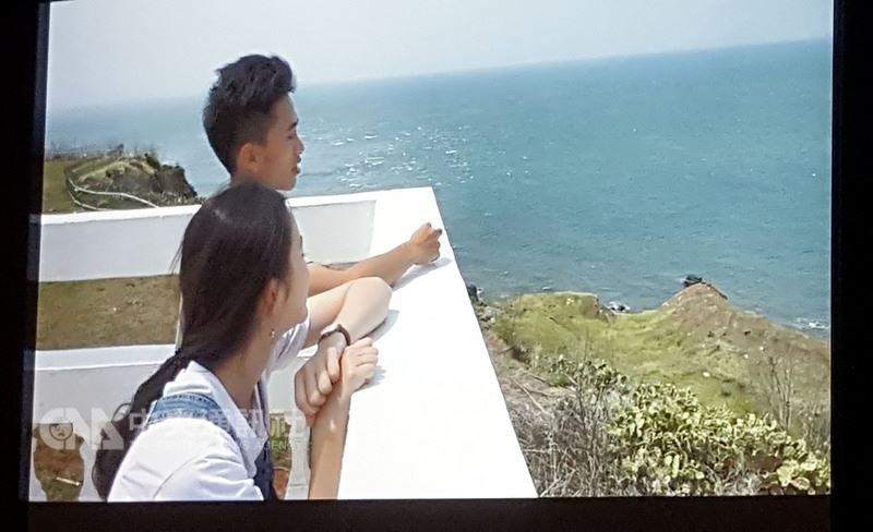 澎湖科技大學14日發表「心錄.歷程」3部旅遊映像美學微電影,每部片長約8分鐘,其中擔任「打開想像自在飛翔」男女主角的兩名同學,也從電影拍攝過程中,感受到澎湖是一個非常淳樸、放鬆的好所在。中央社 107年6月14日