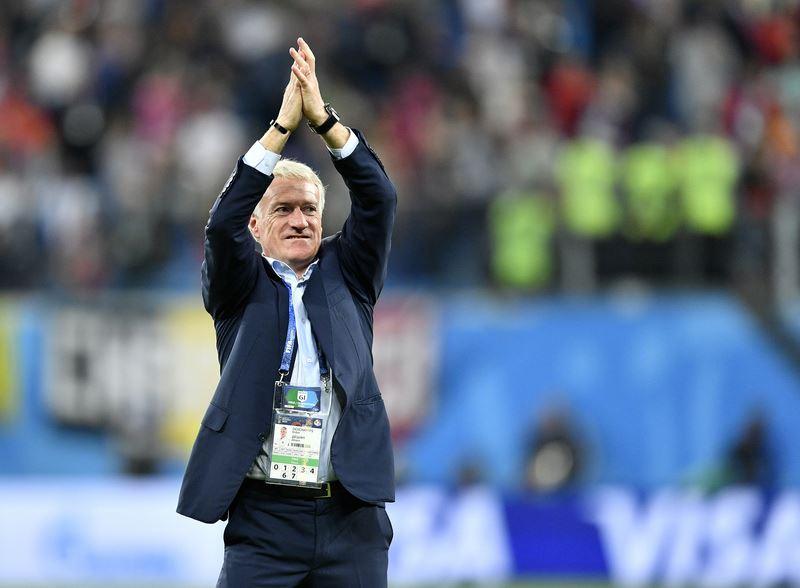 法國教頭德尚說,法國和克羅埃西亞15日世界盃壓軸冠軍戰一定要贏。(達志提供)