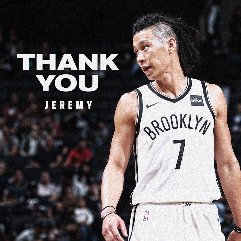 NBA布魯克林籃網隊13日宣布,將台裔後衛林書豪交易到亞特蘭大老鷹隊。(圖取自籃網隊IG www.instagram.com/brooklynnets)