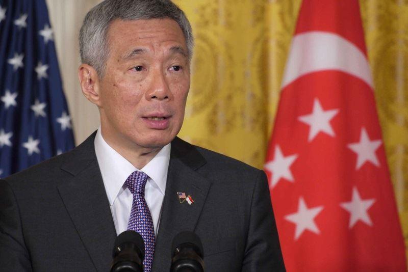 新加坡遭受有史以來最大規模的網路攻擊事件,駭客攻擊目標是新加坡總理李顯龍。(中央社檔案照片)