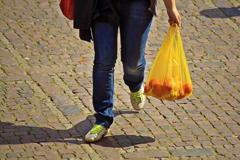 智利政府8月3日頒布法律禁止商業活動使用塑膠袋。此為示意圖。(圖取自Pixabay圖庫)