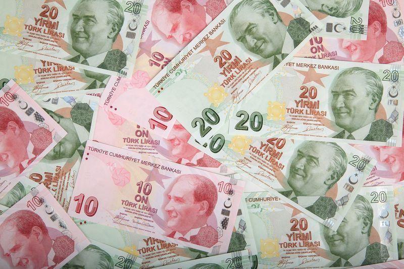 土耳其貨幣里拉兌美元的匯率10日創下新低紀錄。(圖取自Pixabay圖庫)