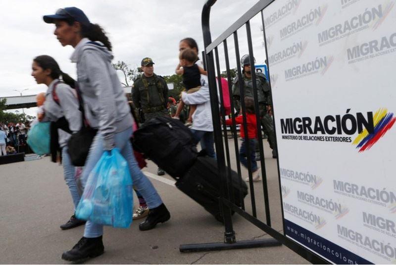 聯合國表示,到6月已有大約230萬人逃出委內瑞拉,主要逃到哥倫比亞、厄瓜多、祕魯與巴西,糧食不足是出逃的主因。(檔案照片/路透社提供)