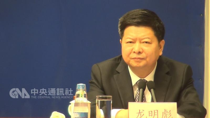 中國國台辦副主任龍明彪16日表示,9月1日將正式實施「港澳台居民居住證」辦法,其中台灣居民居住證採18碼,與大陸身分證相同,用於在陸「證明身份」。中央社記者繆宗翰北京攝 107年8月16日