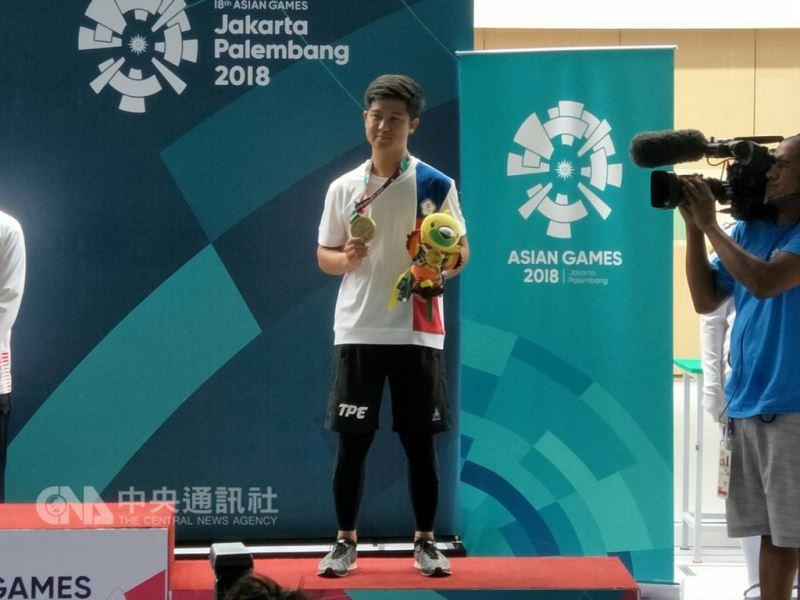 亞運中華隊20日再添一面銅牌,呂紹全在射擊男子10公尺空氣步槍決賽,以226.8分射下銅牌。(中華奧會提供)中央社 107年8月20日