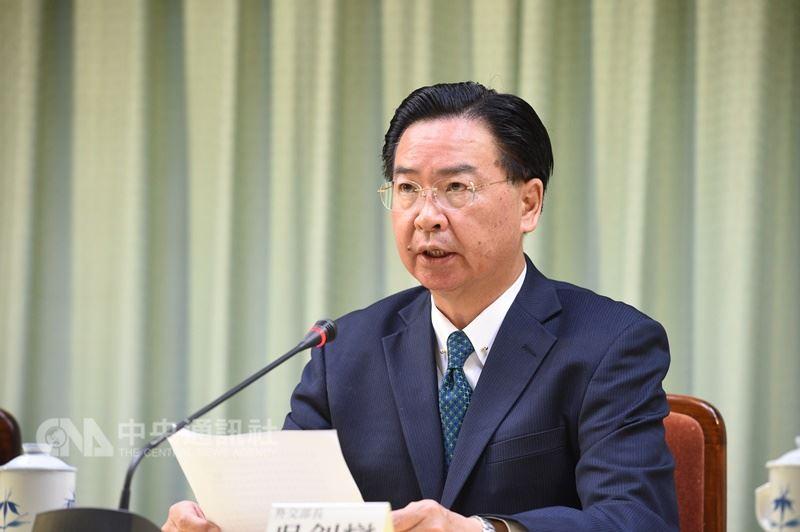 外交部長吳釗燮21日召開記者會宣布,中華民國與中美洲邦交國薩爾瓦多斷交。 中央社記者張皓安攝  107年8月21日