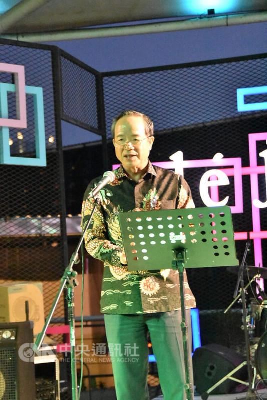 駐印尼代表處5日舉辦台灣電影欣賞活動,駐印尼代表陳忠表示,電影可以做為印尼及台灣了解彼此文化的重要媒介。(駐印尼代表處提供)中央社記者周永捷雅加達傳真  107年9月6日