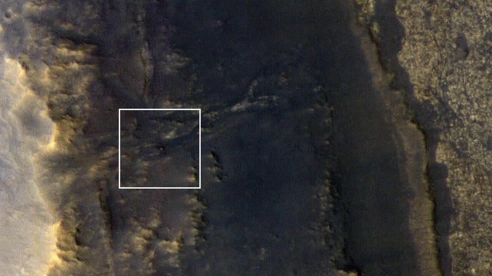 大規模沙塵暴席捲火星後,NASA終於看見100多天前失去聯繫的無人駕駛太陽能探測車「機會號」。(圖取自NASA網頁www.nasa.gov)
