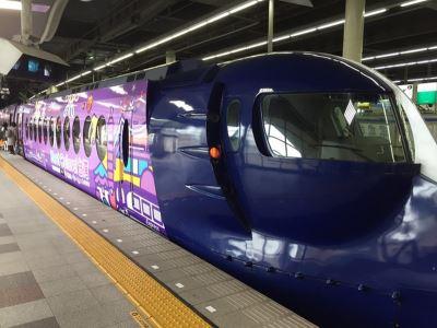桃捷日本彩繪車 手繪風推台灣觀光
