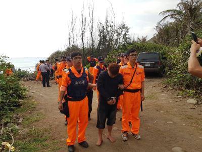 越南人偷渡台東海岸 2人溺斃3人被捕