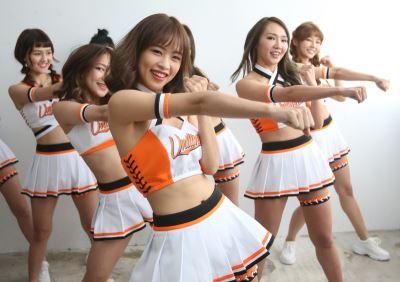 統一獅Uni-Girls擴編 迎接新球季開幕