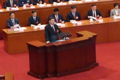 中国人大闭幕  习近平:坚持一中反分裂