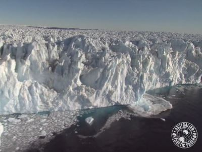 南极冰川漂浮区比想像更大 恐加速崩解[影]