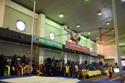 南投國際撐竿跳賽 頂尖選手切磋求進步
