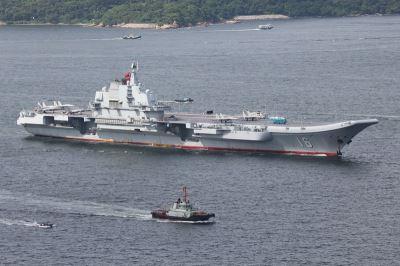 中共航母遼寧號進入台灣海峽 嚴德發證實