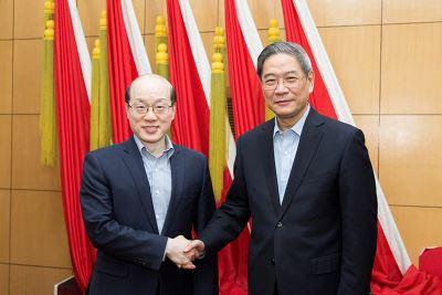 劉結一升國台辦主任  歡迎詞重申一中原則