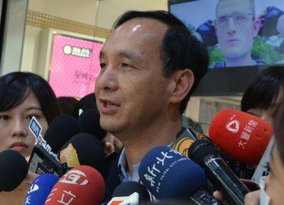 訪南京上海 朱立倫:無關年底選舉
