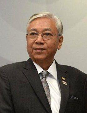 緬甸總統廷覺辭職下台