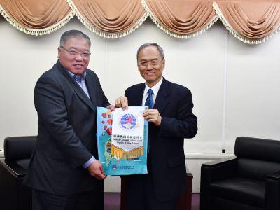馬國首相特使拜會僑委會 感謝助開設教育專戶