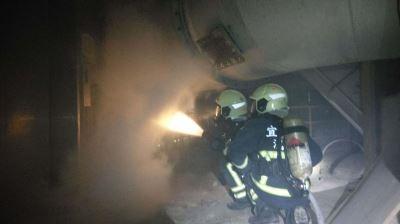 宜蘭潤泰水泥火警 幸無人傷亡