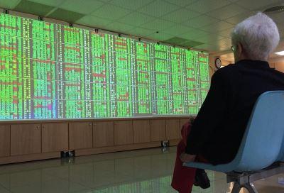 貿易戰烏雲壟罩 台股開盤大跌逾240點