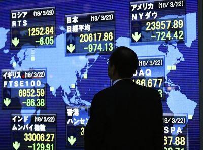 中美貿易大戰劍拔弩張 亞股嚇趴