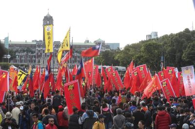 追思繆德生遊行脫序 總統府:牴觸民主紅線