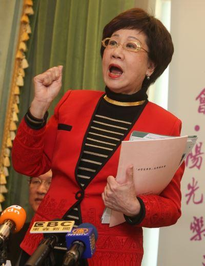 呂秀蓮:參選北市長到底  籲民進黨開放