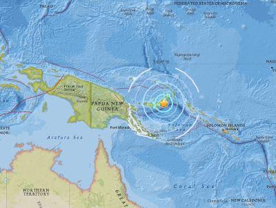 巴布亞紐幾內亞6.8地震 無毀滅性海嘯威脅