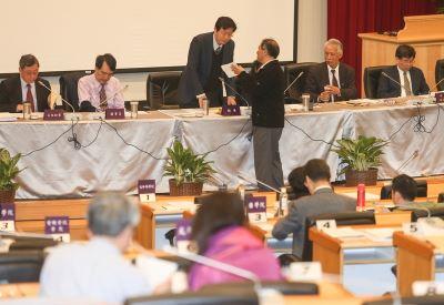 台大校務會議論管案 成立調查小組案遭擱置
