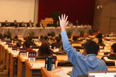 台大校務會議討論管中閔案  5提案全遭擱置