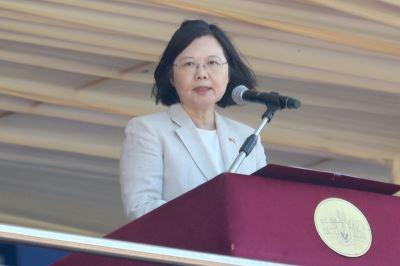 台灣與史瓦濟蘭關係 蔡總統:換帖的
